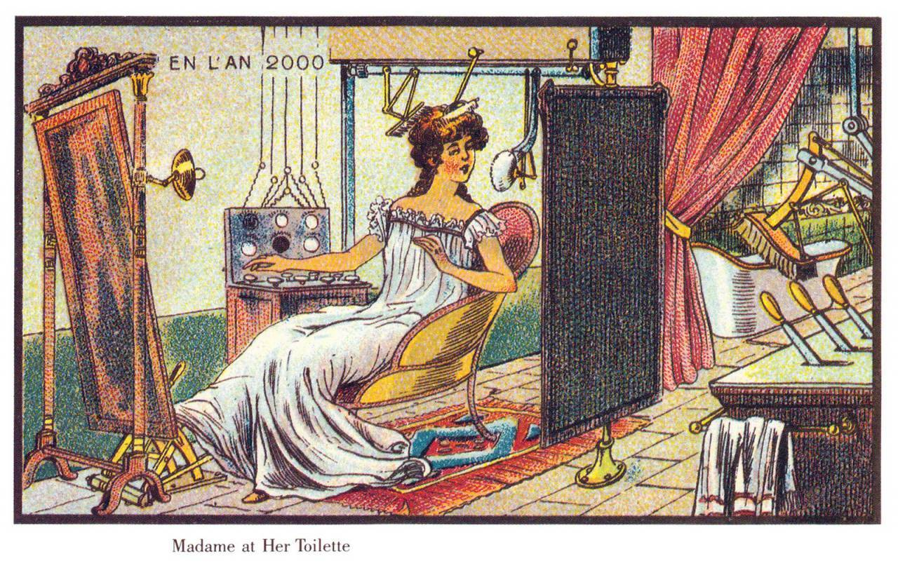 France_in_XXI_Century._Toilette_madame