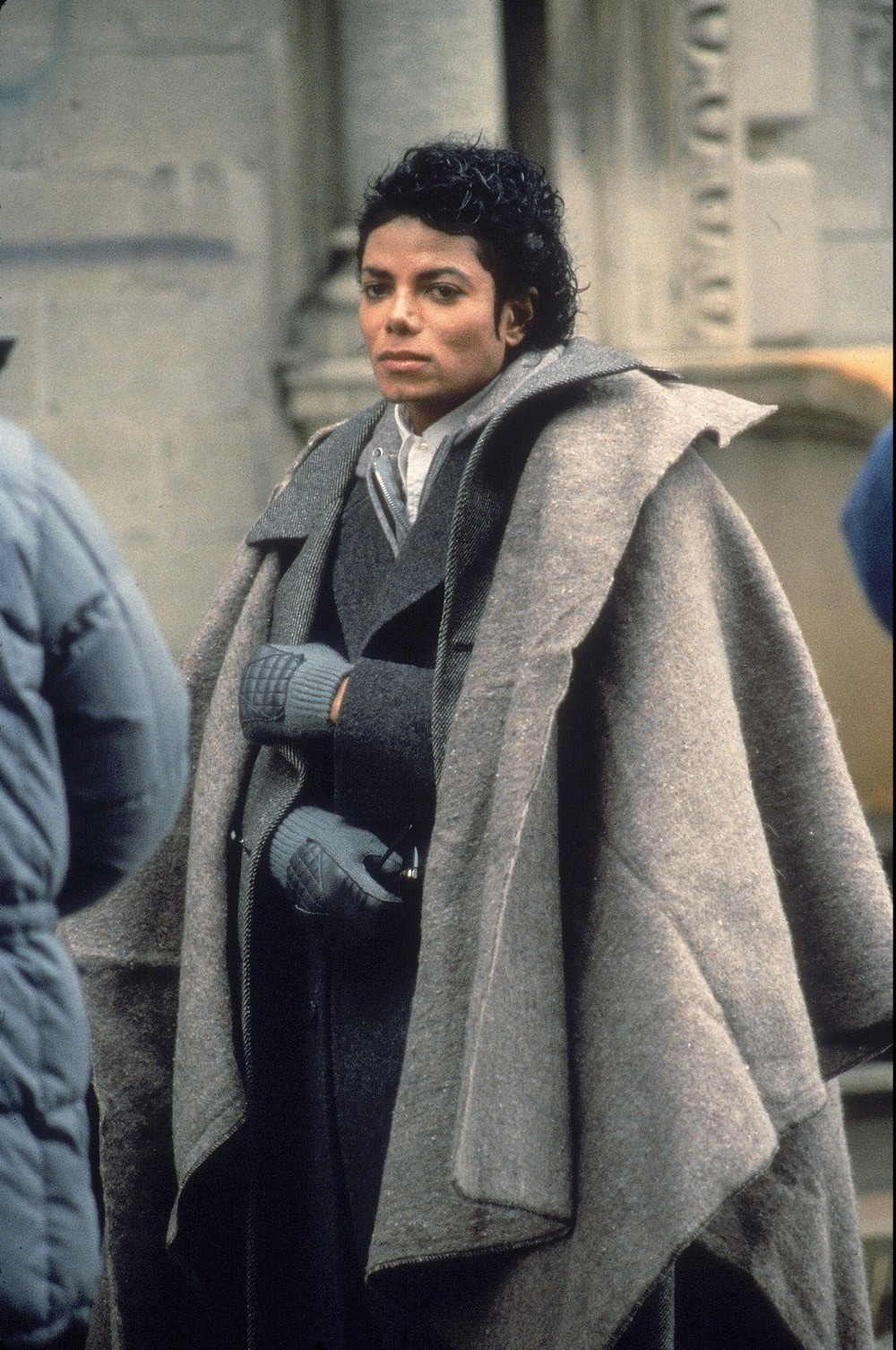 Michael Jackson Films The Video For Bad In 1986 Brooklyn ...