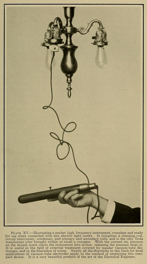 High Frequency Electric Currents in Medicine and Dentistry (1910) 5