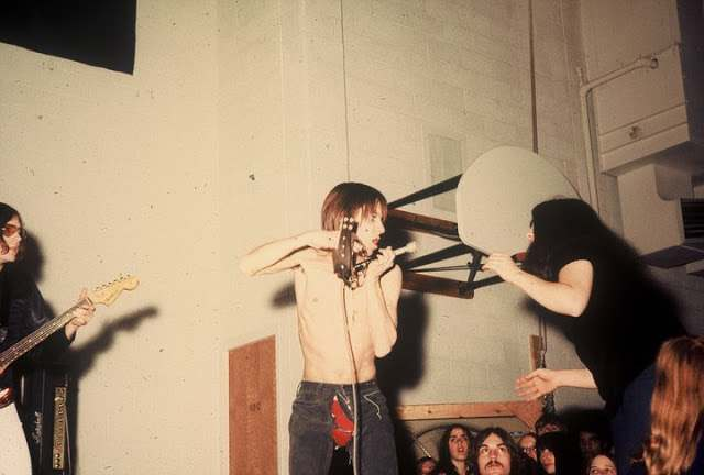 Iggy Iggy and the Stooges at Farmington High School in Oakland County, 1970 1