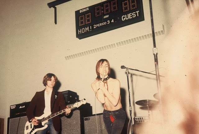 Iggy and the Stooges at Farmington High School in Oakland County, 1970 23
