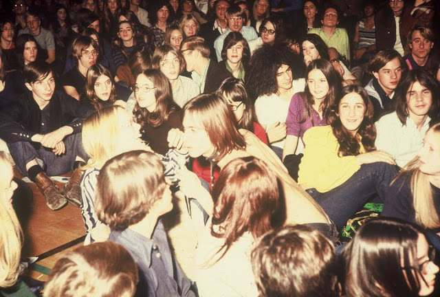 Iggy Pop the Stooges at Farmington High School in Oakland County, 1970