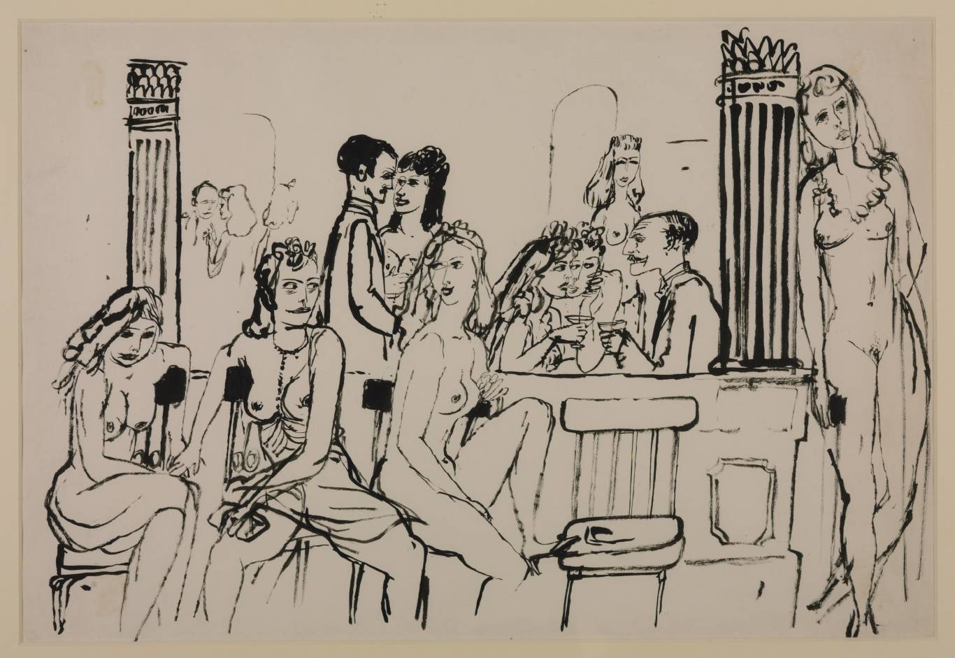 Le Sphinx, 1937 by James Boswell http://www.tate.org.uk/art/work/T03460