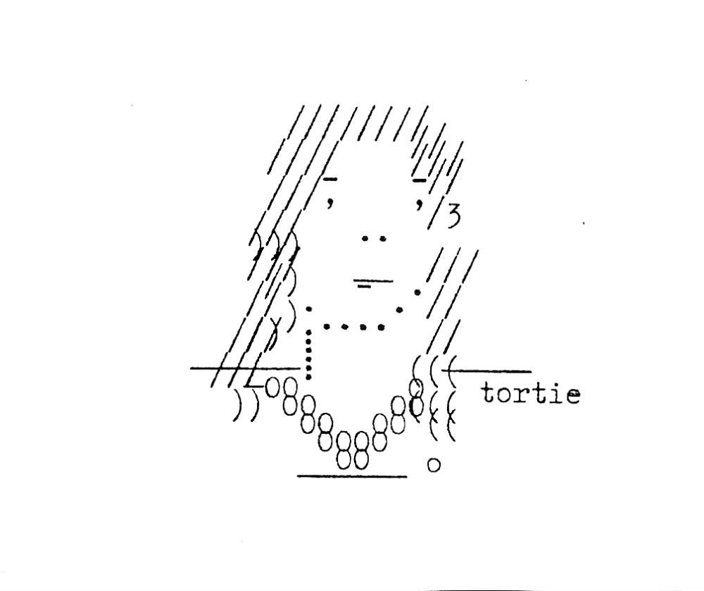 Nadine Faye James Selection from Typewritten Portraits (2007).
