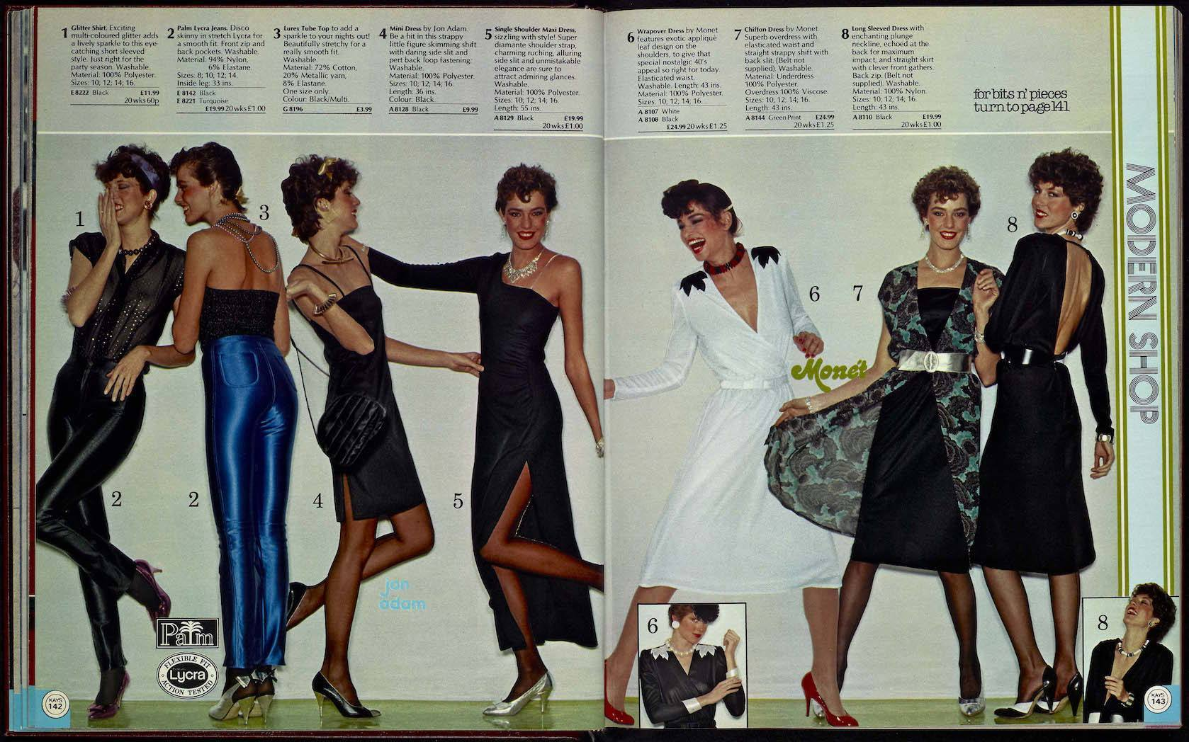Wonderful Womenswear From The 1980 Kays Catalogue Flashbak