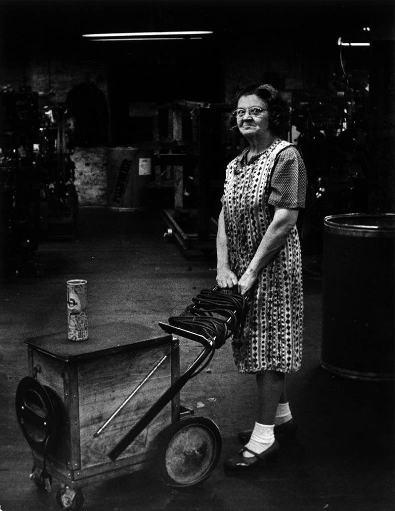 Mill Worker - Lowell, 1977.