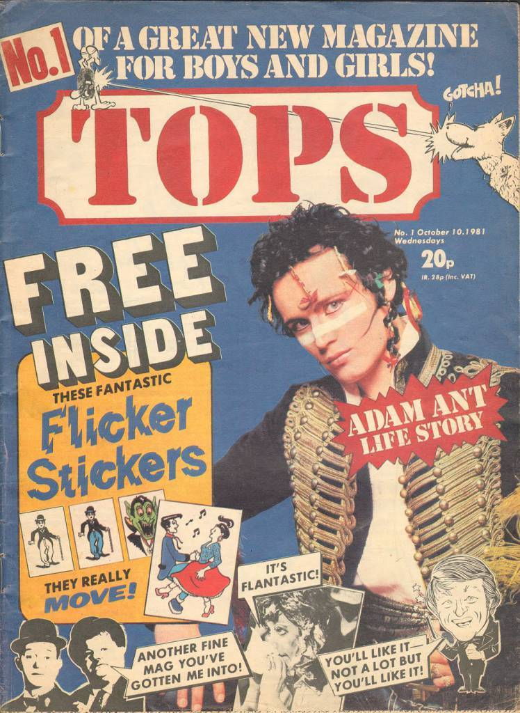 TV Tops Issue 1 10th October 1981