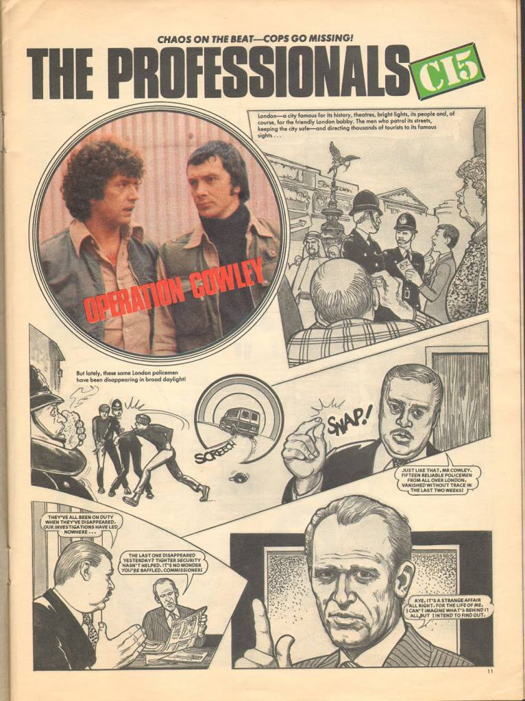 Page 11 TV Tops Magazine issue 1 1981 Adama ant