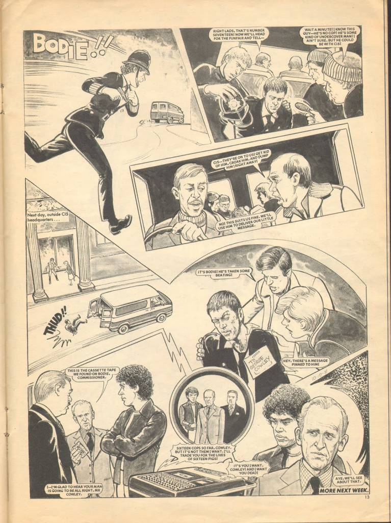 Page 13 TV Tops Magazine issue 1 1981 Adama ant