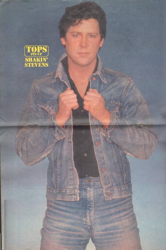 Page 16 and 17 TV Tops Magazine issue 1 1981 Adama ant, shakin stevens