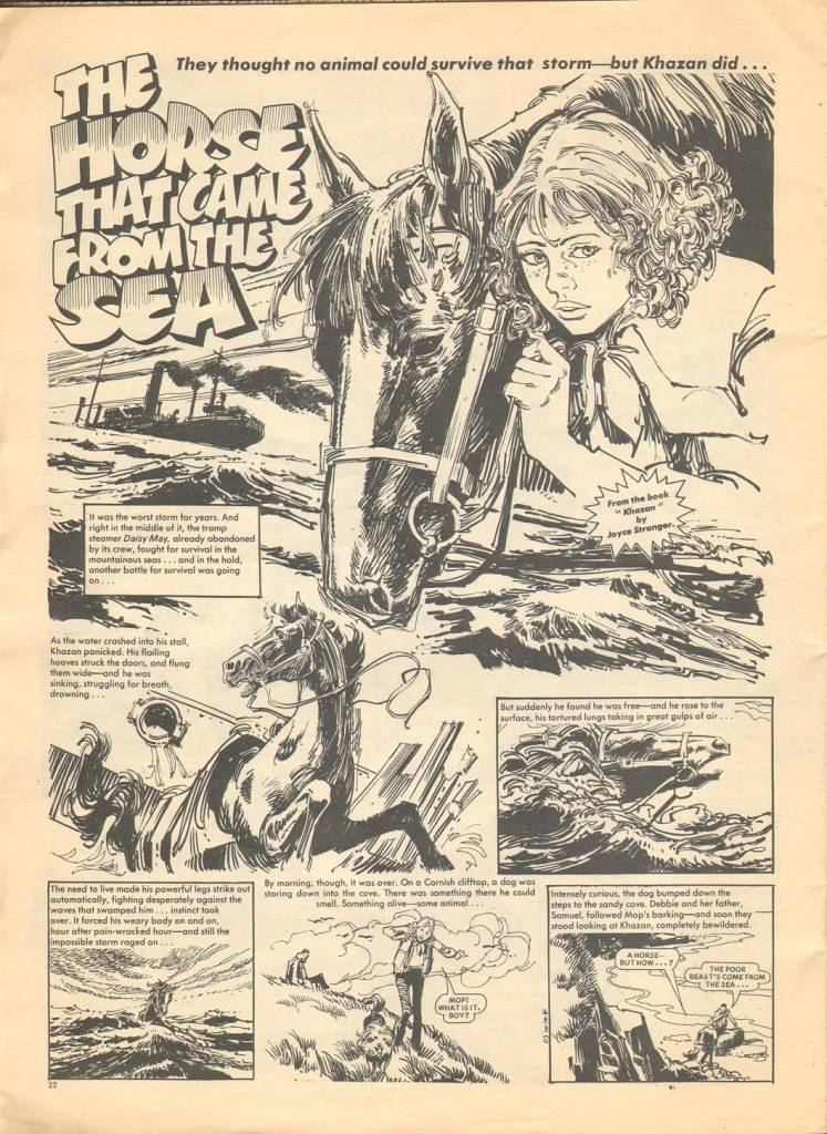 Page 22 TV Tops Magazine issue 1 1981 Adama ant