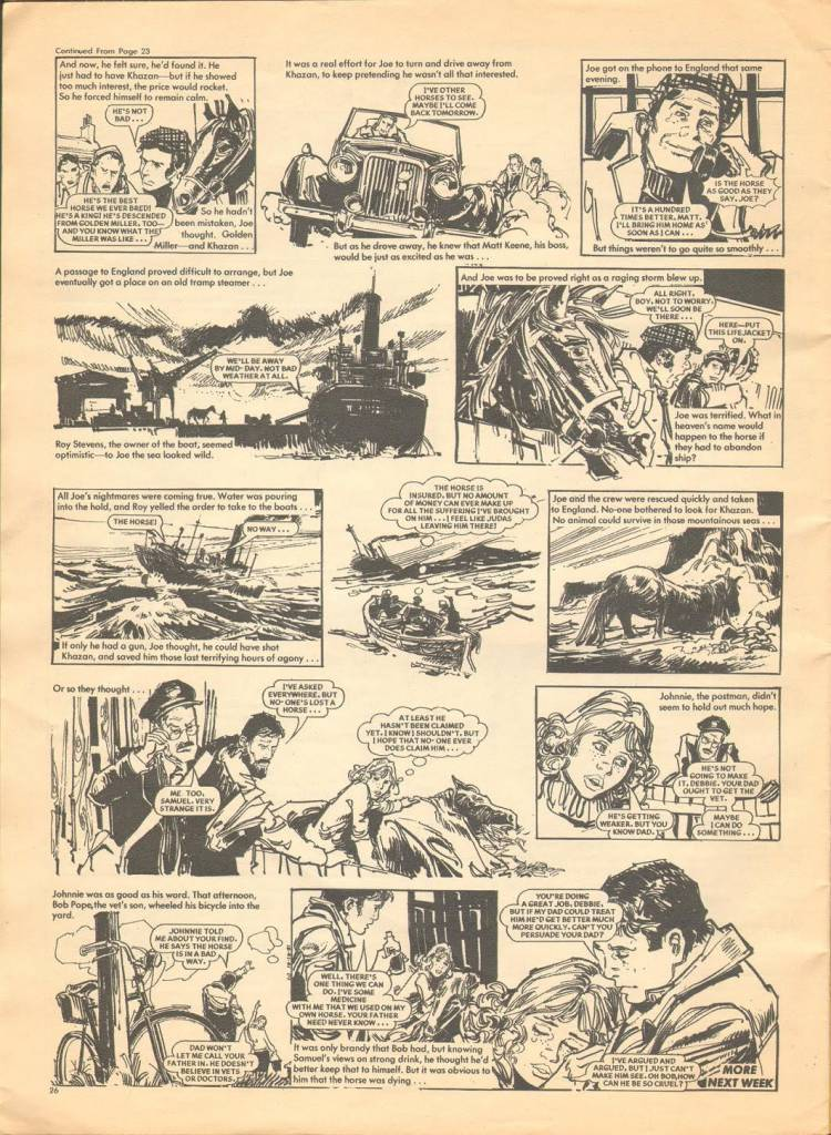Page 26 TV Tops Magazine issue 1 1981 Adama ant