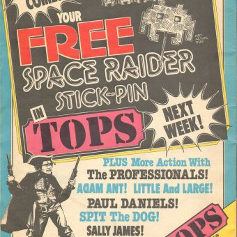 TV Tops Issue 1 Full Scan: 10th October 1981