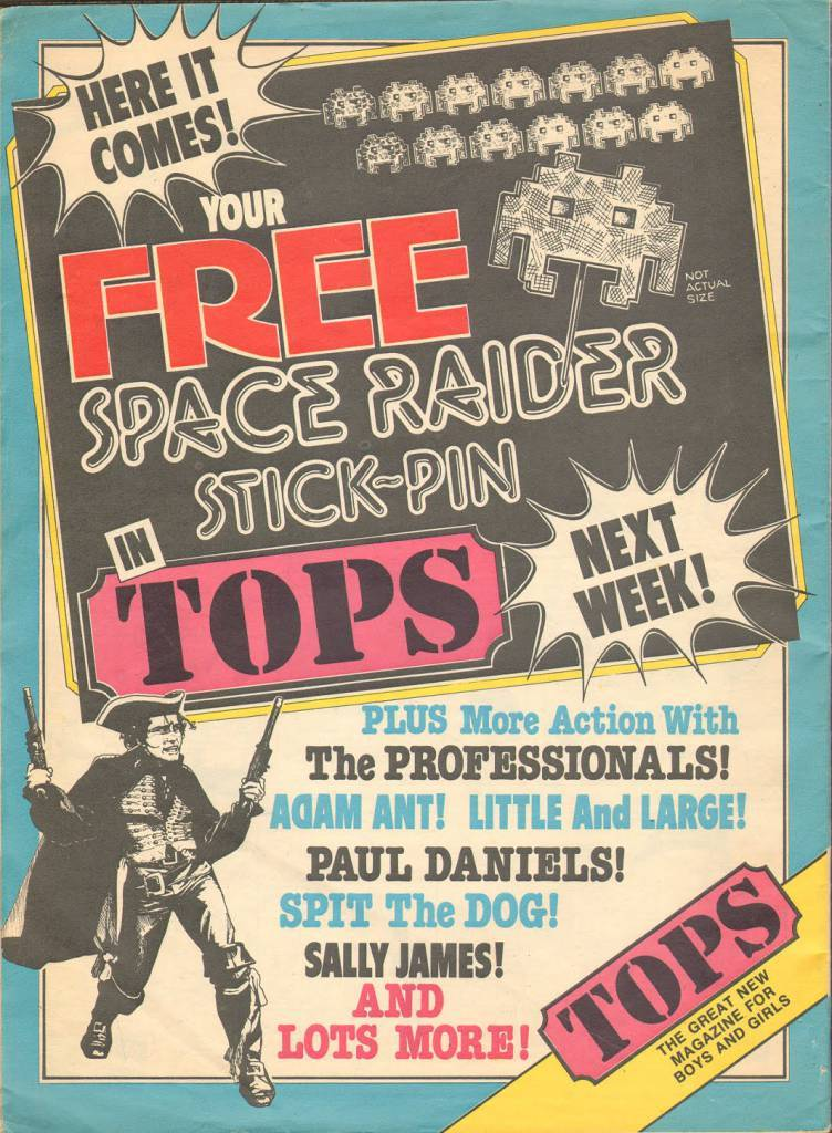 Page 32 TV Tops Magazine issue 1 1981 Adama ant (1)