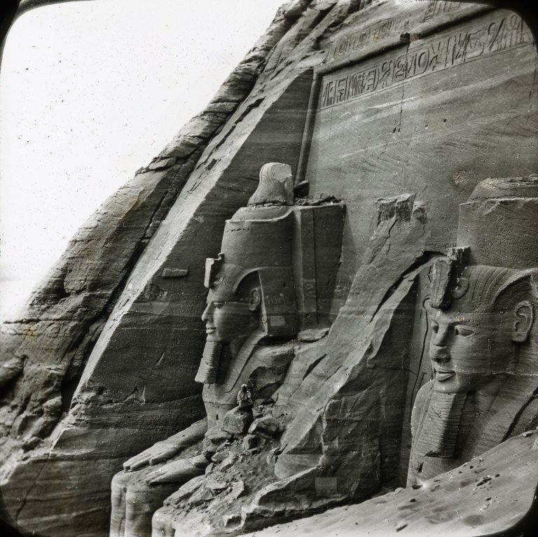 Abu Simbel. Looking Southward