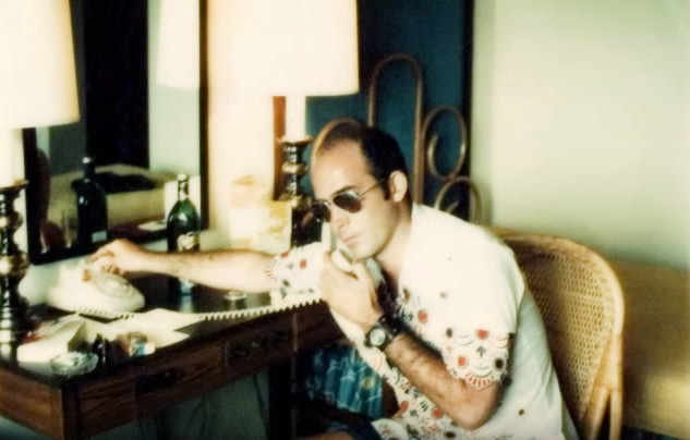 Hunter S Thompson voicemail