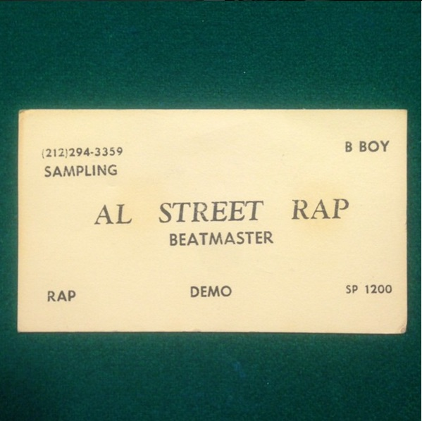 @thepilotsonbought an old school rap collection and found this amazing business card!