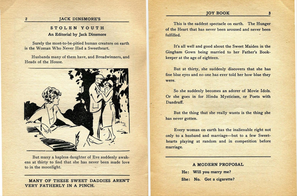 Jack Dinsmore's Joy Book (1922)