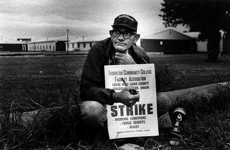 Teacher Strike - W. Siville, 1975.