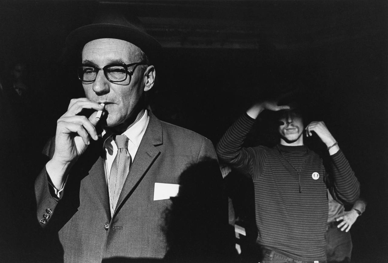 William S Burroughs, Democratic National Convention, Chicago, 1968.