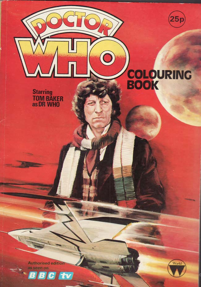 Tom Baker Dr Who Merchandise Greetings Cards Great