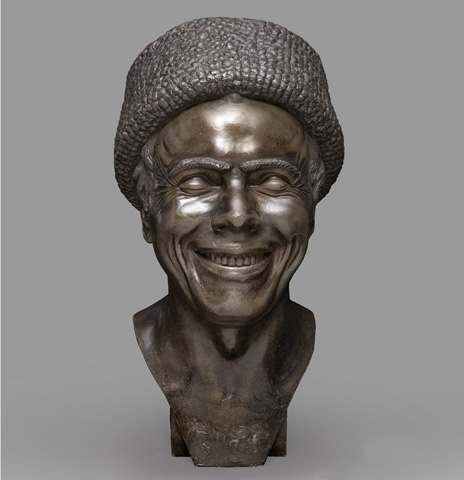 Franz Xaver Messerschmidt The Artist as He Imagined Himself Laughing 1777-81 tin cast