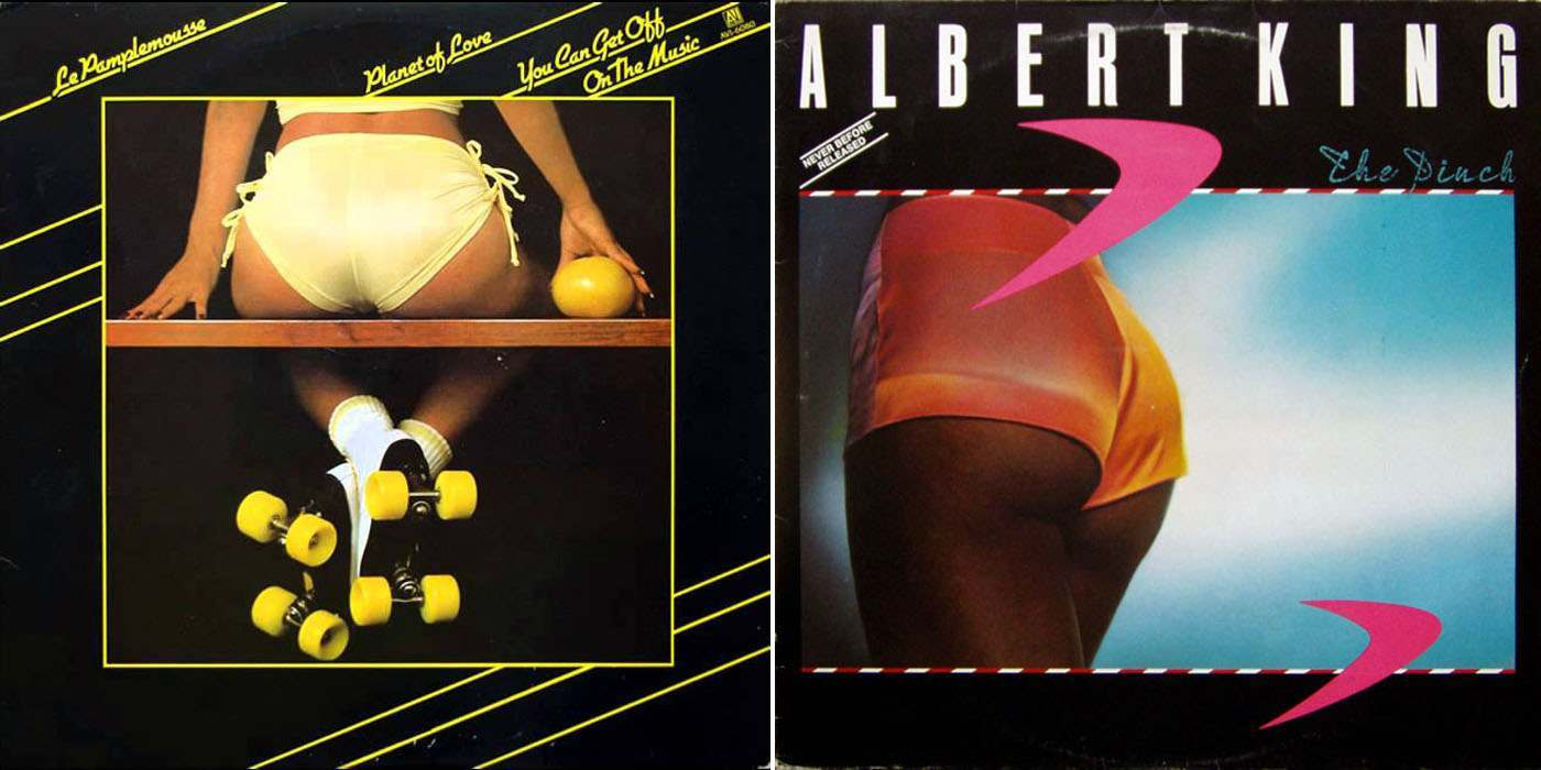 Butts On Vinyl Record Covers A 1970s Contagion