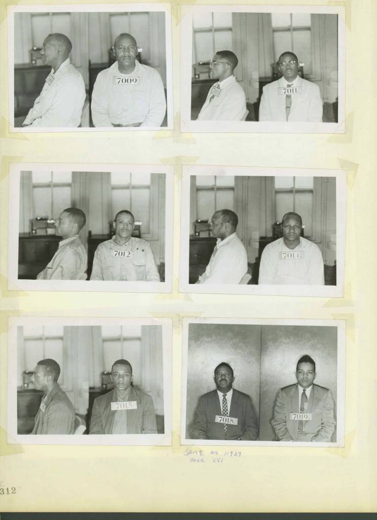 CIVIL RIGHTS MUG SHOTS