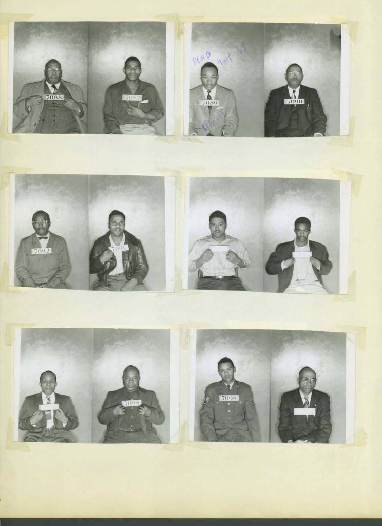 Civil Rights Mug Shots Heroes Of The Montgomery Bus