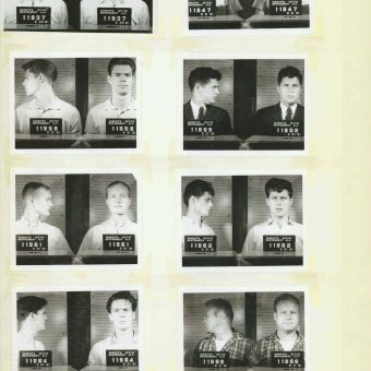 Civil Rights Mug Shots: Heroes Of The Montgomery Bus Boycott And Freedom Rides