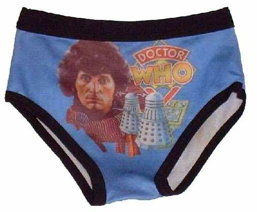 underpants dr who