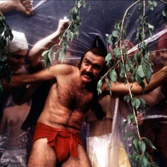 Zardoz: Cards And Stills Of Sean Connery And Charlotte Rampling In John Boorman's Rich And Crazy Sci-Fi Spectacular