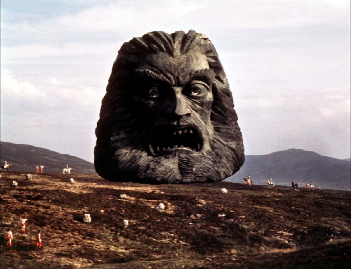 The godhead Zardoz speaks to The Exterminators: 'The gun is good, the penis is evil…'