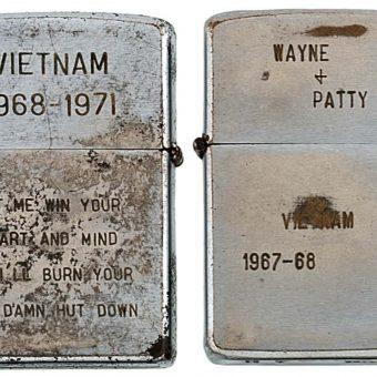 Heartfelt Messages On Zippo Lighters of The Vietnam War (1965 – 1973)