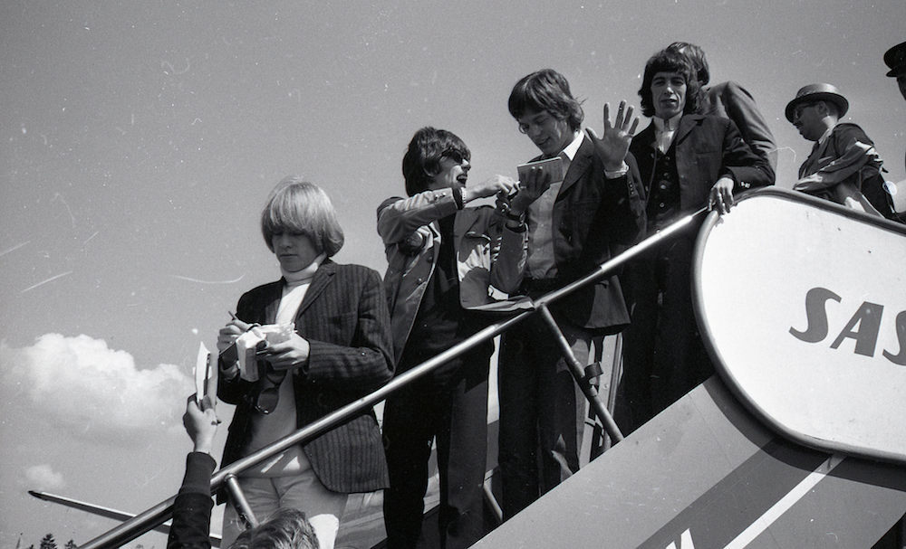 The Rolling Stones Oslo in 1965