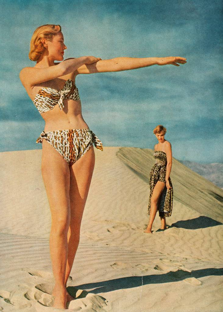 "holiday magazine (June 1950) titled ""1950: A Nice Round Figure"""