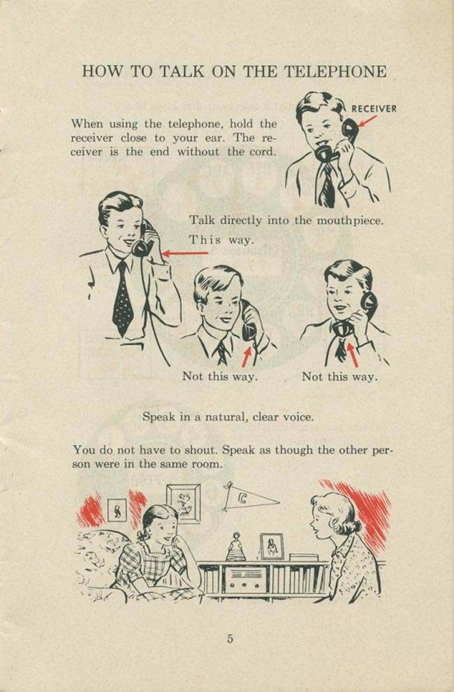 1951 manual: How To Use a Dial Telephone