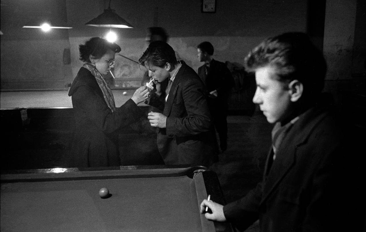 1954, London, teenagers