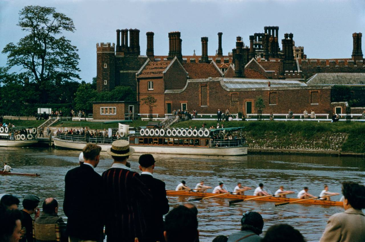 1955, Windsor Castle, UK, regatta