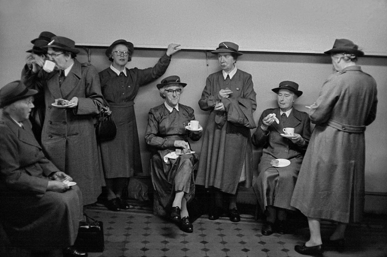 1959, London, ladies of the Salvation Army
