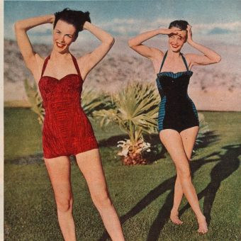 'A Good Round Figure': A 1950 Beach Fashion Magazine Spread