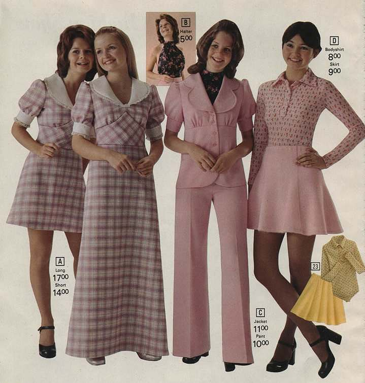 1973 women fashion