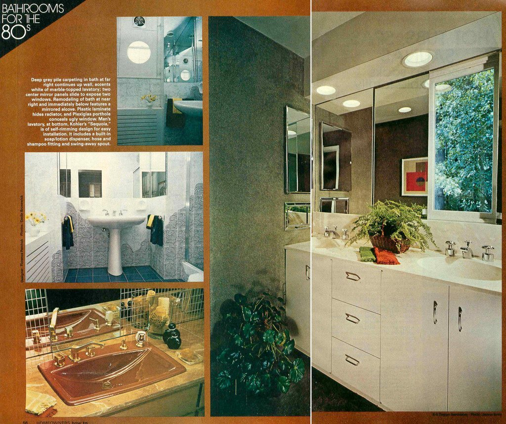 THE VINTAGE HOME #22: BATHROOM '80