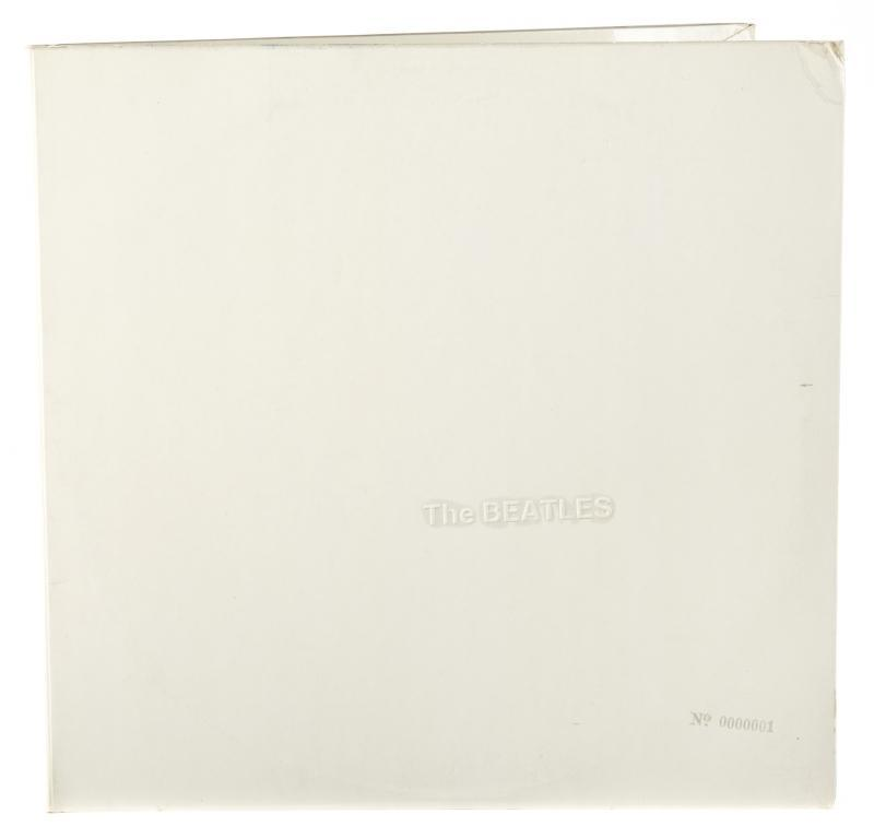 Ringo Star White Album sale