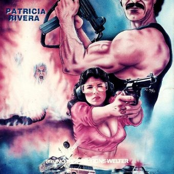 1980s VHS Video Cover Action