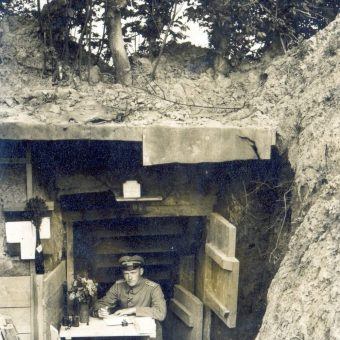 Making A Trench Home: Creature Comforts On WWW1 Frontlines