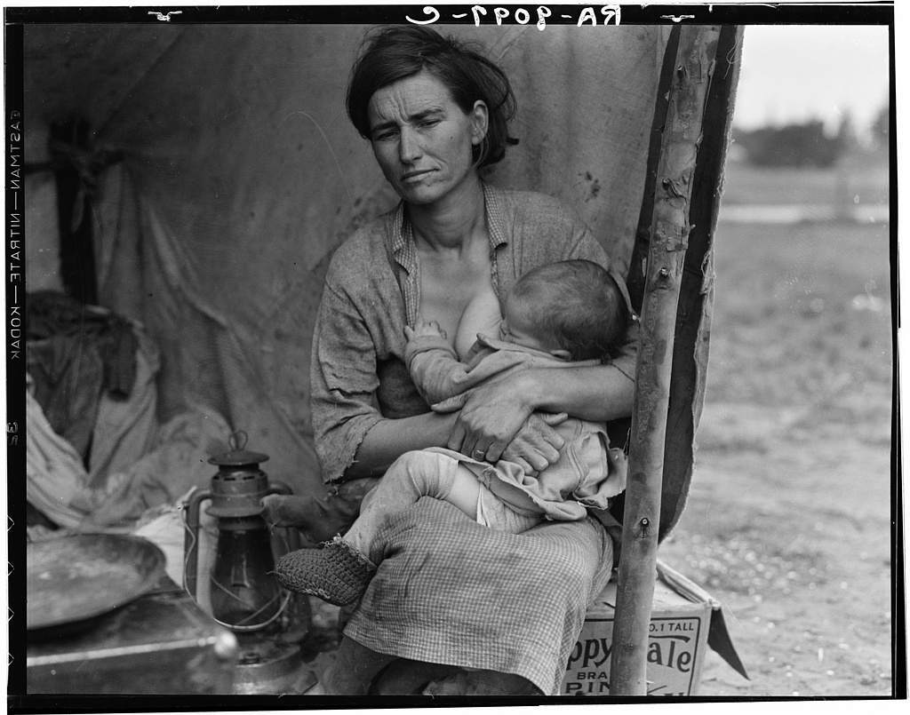 an analysis of the families during the great depression of the 1930s Approximately 15 million men abandoned their families during the great depression  the dust storms and severe drought in the 1930s made the great depression even.