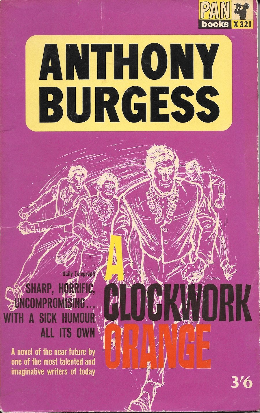 Burgess cover A Clockwork Orange