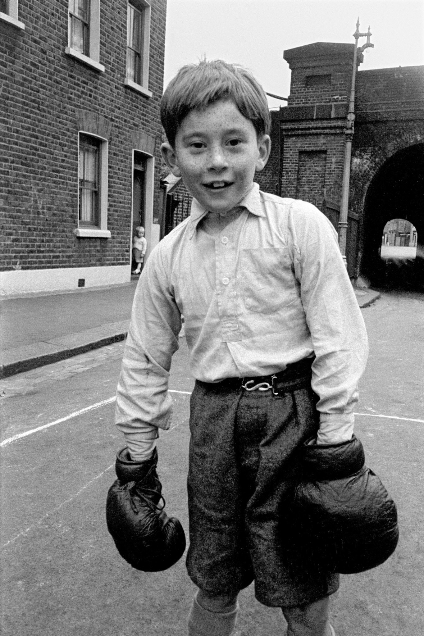 Boys Boxing In British Schools (1950s): When The Noble Art Was A