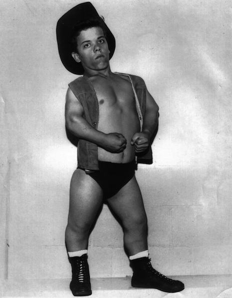 Cowboy Lang was born Harry Lang in Saskatchewan, Canada on August 28, 1950. He started wrestling at the age of fifteen and went on to become one the world's top midget wrestler over a 30 year period, during which time he won the NWA World Midget Championship twice. He sadly died at the age of 56 in January 2007.